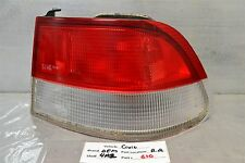 1999-2000 Honda Civic Coupe Right Pass Genuine OEM Clear tail light 10 4P2