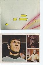 RARE 1975 MORRIS STAR TREK UNOPENED PACK STICKERS
