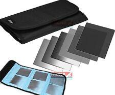 """Fotga 101mm 4""""x4"""" Gradual + Full Neutral Density ND2 4 8 Filter Kit for Mattebox"""