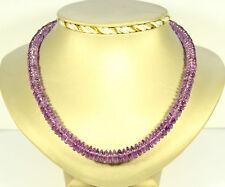 Amatista Collar de piedras preciosas Púrpura ca.184 KT