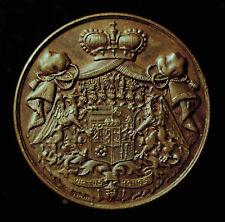 Gft. Hatzfeld, Medaille 1911 a.d. Tod Alfred v. Hatzfeld-Wildenburg, R!