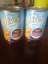 New listing 9 Lives Hearty Cuts With Real Turkey & Cheese In Gravy Set Of 2