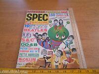 16 Spec teen Magazine Winter 1967 The Monkees Davy Jones Beatles Cher
