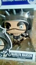 Funko Pop Rocks! Marilyn Manson- Totally Mint(Comes With Protector)
