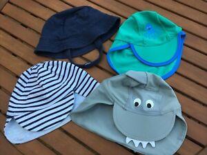 Baby Toddler Boy Sun Hat Bundle 12-18 Months