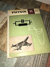 DDR Schulbuch -Lehrbuch -Physik -Erweiterte Oberschule B-Zweig Klasse 11