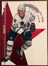 1995-96 PARKHURST ALL STAR MATS SUNDIN MIKAEL RENBERG #6 HOF INTERNATIONAL