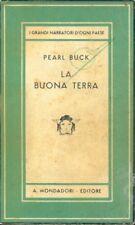 I GRANDI NARRATORI D'OGNI PAESE LA BUONA TERRA PEARL S. BUCK D121