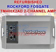 ROCKFORD FOSGATE REFURBISHED TM400X2AD MARINE 400 WATT 2 CHANNEL AMPLIFIER