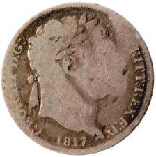 1817 SIXPENCE OF GEORGE III.  - NICE COLLECTABLE COIN    #WT3285