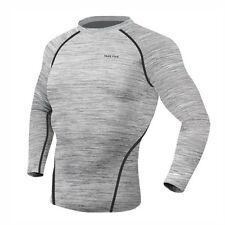 Take Five Mens Skin Tight Compression Base Layer Running Lining Shirt Nt028