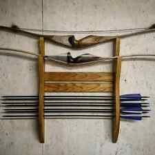 Hand made Oak hardwood bow rack