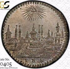 STUNNING FINEST KNOWN @ NGC & PCGS MS65 1806 NURNBERG KREUZER GERMANY UBER-TONED
