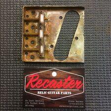 🎸 Recaster Rusty Relic Tele Telecaster Ferrous Ashtray Bridge 3 Saddle Type