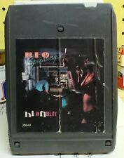 REO Speedwagon Hi Infidelity Epic Records 8 Track Cartridge Tape - Tested
