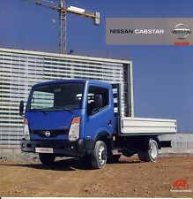 Nissan Cabstar 11 / 2009 catalogue brochure camion truck