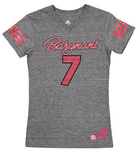 Adidas NBA Youth Girls Toronto Raptors Andrea Bargnani #7 Tri-Blend Tee