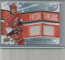 2008-09 Upper Deck Ice Fresh Threads Brandon Sutter Dual Jersey #FT-BS