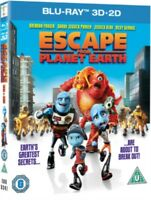 Escape From Planet Earth 3D + 2D Blu-Ray Nuovo (EBR5247)