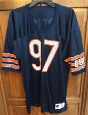 Champion Chicago Bears NFL Chris Zorich # 97 Jersey Blue ND Men 48 XL
