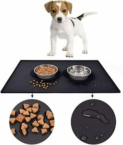 Silicone Pet Feeding Mat Non Slip Pet Food Placemat for Dog Cat Bowls  80*60 cm