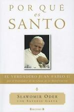 Por que es Santo (Spanish Edition) (No Ficcion Cronica)-ExLibrary