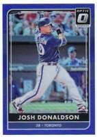 2016 Panini Donruss Optic Blue /149 #161 Josh Donaldson Blue Jays