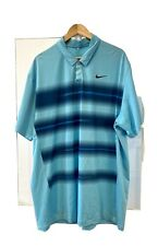 mens NIKE golf top - Tiger Woods Collection XXL - Blue