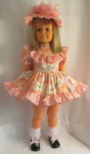 "1981 Ideal 35""  Patti Playpal Doll,  Tri-color Blonde Hair, Grey Green Eyes"