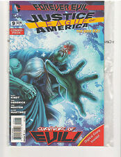 JUSTICE LEAGUE OF AMERICA #9 COMBO PACK NEW 52, NM (DC COMICS, DEC. 2013)