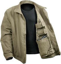 Rothco Men's 3 season concealed carry jacket size 2XL Khaki