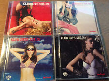 CLUB HITS VOL.29 30 31 32 [8 CD] Scooter SNAP Kalkbrenner Clueso Deichkind