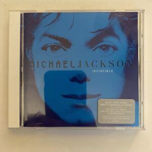 Michael Jackson - Invincible - 2001 Original US CD Blue Cover (Used)