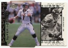 John Elway 1998 Upper Deck Super Powers Silver Die Cut Insert 1956/2000 Broncos