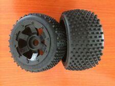 Rear Wheel Tire 2pcs Off-road Fit 1/5 ROAVN King Motor HPI Baja 5B
