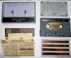 Maxell Metal Vertex 90 Used Tape