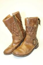 UGG Australia Womens 7.5 38.5 Conor Quilted Leather Harness Moto Boots 1001887
