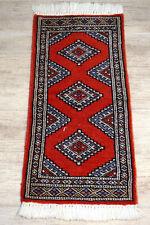 Feiner Handgeknüpfter Orientteppich Buchara Yomut Jomut Tapis Carpet 90x30cm