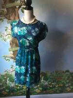 Xhilaration Women's Teal Green Cap Sleeve Dress Size XS