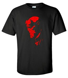 Hellboy Superhero Comics Mens T-shirt