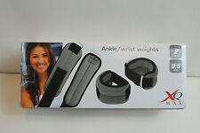 Gewichtsmanschetten,Hand/Fuß;XQ MAX,2X0,5 kg,schwarz