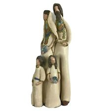 """Daisy Handmade Sculpture 10"""" Jewish Family Tradition Clothing Holding Scripture"""