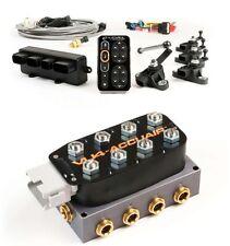 Accuair E level Kit + VU4 Manifold System Air Ride Suspension Bags,valves