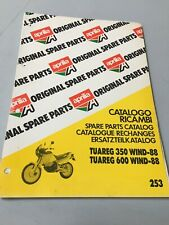 Aprilia Ersatzteilkatalog Tuareg 300 600 Wind 1988 Parts List Chassis