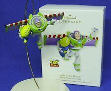 Hallmark Ornament Disney Pixar Toy Story Buzz to the Rescue 2012 Lightyear Alien