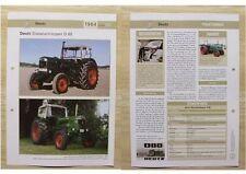 DEUTZ Traktor Schlepper D 80 1964 Weltbild