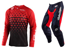 Troy Lee Designs TLD SE Air Megaburst Red Jersey/GP Black/Red Pant Combo MD/32