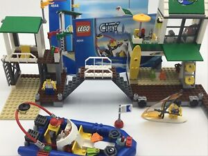 Lego City 4644 Marina With Instructions