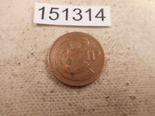 World Coin Sale - 1986 Ireland 1 P Very Nice Collector Grade - # 151314