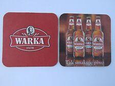 Beer Coaster: WARKA Brewery (Zywiec Group/Heineken) Pale Ale ~ POLAND Since 1478